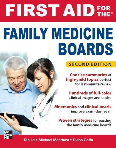 First Aid for the Family Medicine Boards, Second Edition 9780071737265