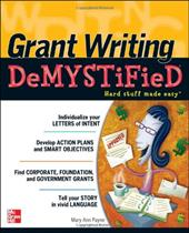 Grant Writing DeMYSTiFieD - Payne, Mary Ann