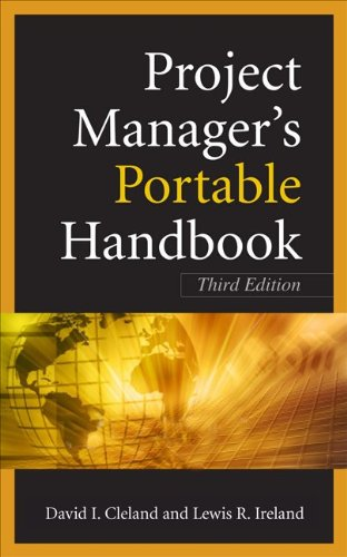 Project Managers Portable Handbook 9780071741057