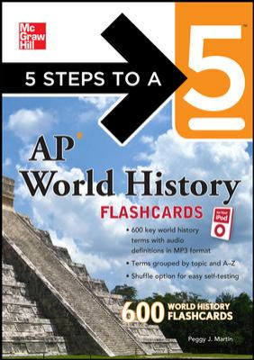 5 Steps to a 5 AP World History Flashcards [With Booklet]