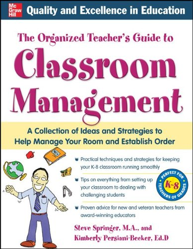The Organized Teacher's Guide to Classroom Management [With CDROM] 9780071741989