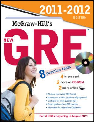 McGraw-Hill's New GRE [With CDROM] 9780071742665