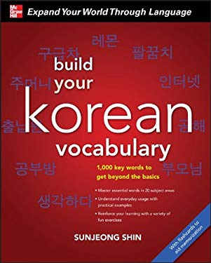 Build Your Korean Vocabulary [With CD (Audio)] 9780071742955