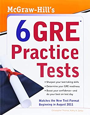 McGraw-Hill's 6 GRE Practice Tests 9780071743129