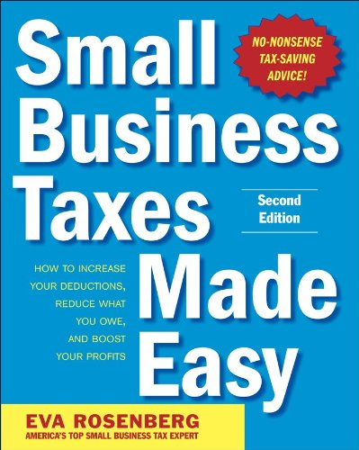Small Business Taxes Made Easy 9780071743273