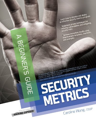 Security Metrics: A Beginner's Guide