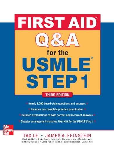 First Aid Q&A for the USMLE Step 1 9780071744027