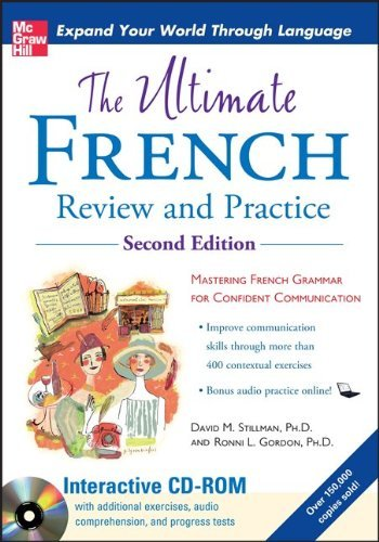 The Ultimate French Review and Practice [With CDROM] 9780071744140