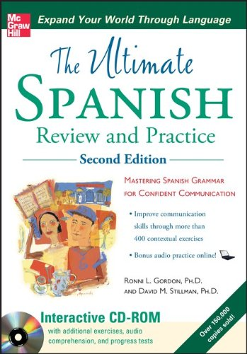 Ultimate Spanish Review and Practice , Second Edition [With CDROM] 9780071744188
