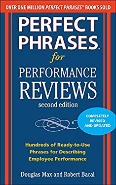 Perfect Phrases for Performance Reviews 9780071745079