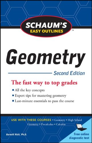 Schaum's Easy Outline of Geometry, Second Edition 9780071745857