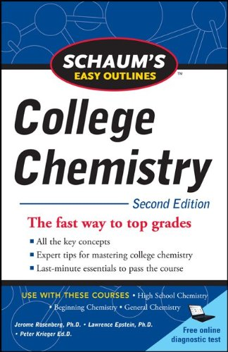 Schaum's Easy Outlines of College Chemistry, Second Edition 9780071745871