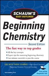 Schaum's Easy Outline of Beginning Chemistry, Second Edition