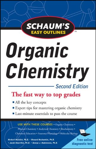 Schaum's Easy Outline of Organic Chemistry, Second Edition 9780071745901