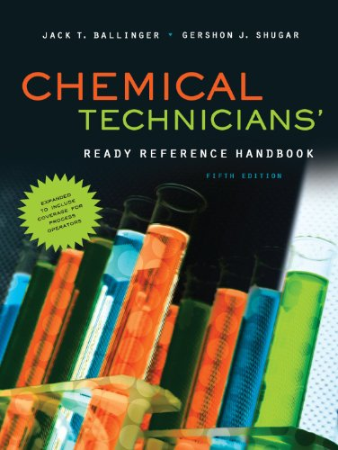 Chemical Technicians' Ready Reference Handbook 9780071745925