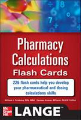 Pharmacy Calculations Flash Cards 9780071746359