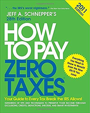 How to Pay Zero Taxes 9780071746588