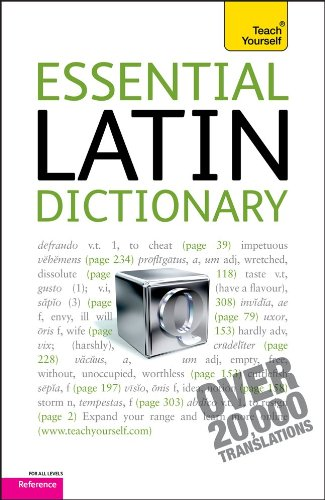 Essential Latin Dictionary: Latin-English/English-Latin 9780071747400