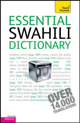 Essential Swahili Dictionary: Swahili-English/English-Swahili 9780071747424