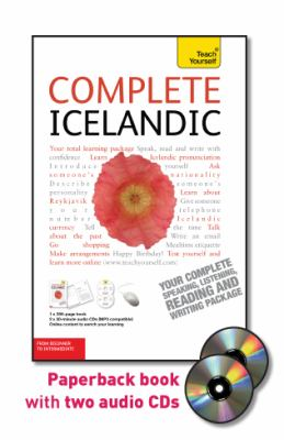 Teach Yourself Complete Icelandic: From Beginner to Intermediate [With Paperback Book]
