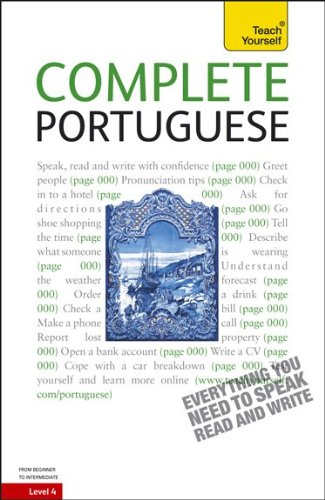 Teach Yourself Complete Portuguese: From Beginner to Intermediate [With Paperback Book] 9780071747912