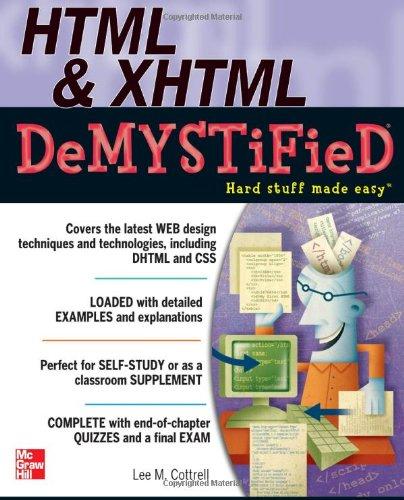 HTML & XHTML Demystified 9780071748049
