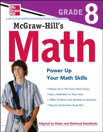 McGraw-Hill's Math, Grade 8 9780071748612