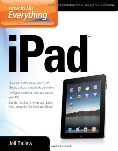 How to Do Everything iPad 9780071748698