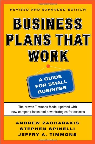 Business Plans That Work: A Guide for Small Business 9780071748834