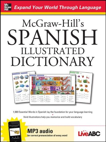 McGraw-Hill's Spanish Illustrated Dictionary [With CD (Audio)] 9780071749176