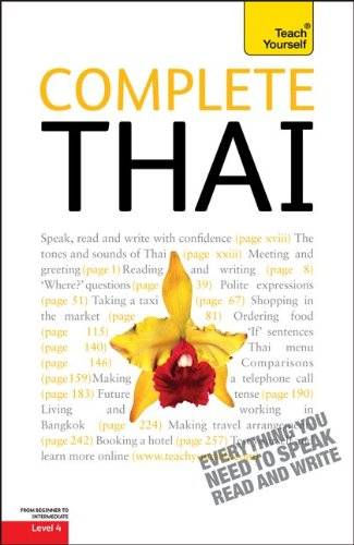 Teach Yourself Complete Thai: From Beginner to Intermediate [With Paperback Book] 9780071750493