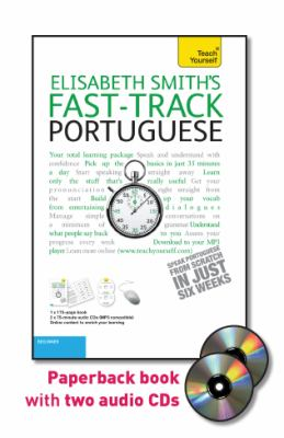 Fast-Track Portuguese with Two Audio CDs: A Teach Yourself Guide 9780071750790