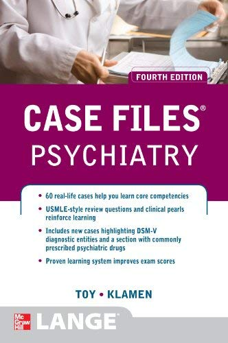 Case Files Psychiatry, Fourth Edition 9780071753913