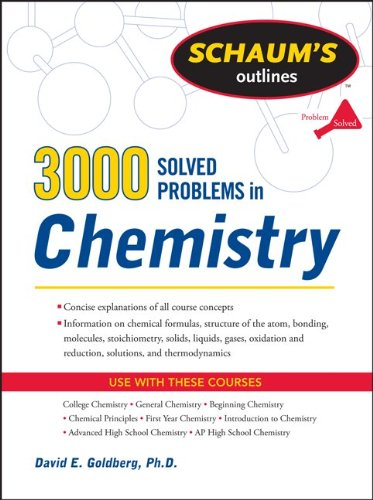 3,000 Solved Problems in Chemistry 9780071755009