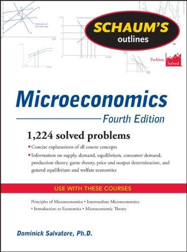 Schaum's Outline of Microeconomics 9780071755450