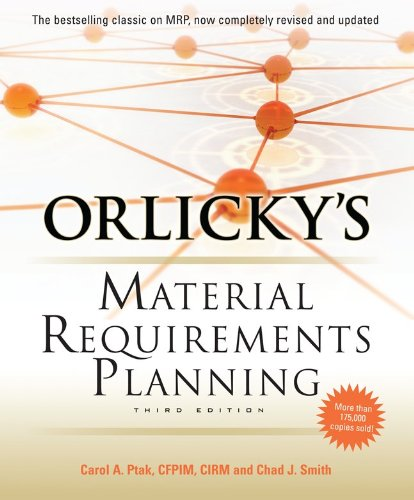 Orlicky's Material Requirements Planning 9780071755634