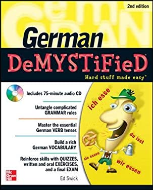 German Demystified [With CD (Audio)] 9780071755887