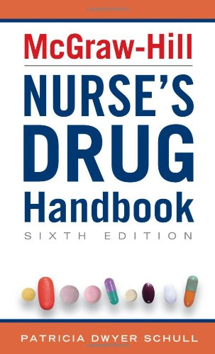 McGraw-Hill Nurse's Drug Handbook 9780071756099