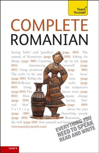 Teach Yourself Complete Romanian: From Beginner to Intermediate [With Paperback Book] 9780071756488