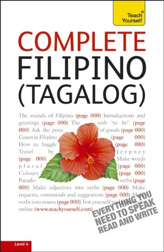 Complete Filipino (Tagalog): From Beginner to Intermediate [With 400-Page Book] 9780071756587