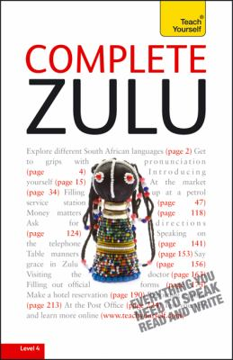 Complete Zulu: Beginner to Intermediate [With Paperback Book] 9780071758680