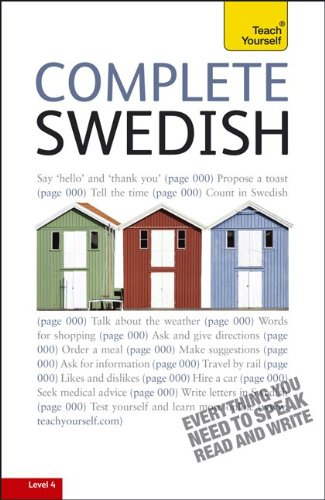 Teach Yourself Complete Swedish: From Beginner to Intermediate [With Paperback Book] 9780071758789