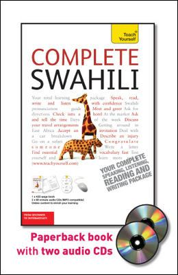 Teach Yourself Complete Swahili: From Beginner to Intermediate [With Paperback Book] 9780071758833