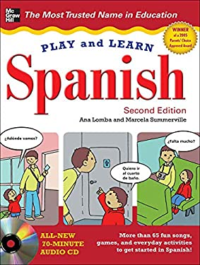 Play and Learn Spanish [With Audio CD] 9780071759281