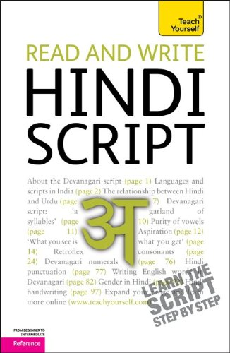 Read and Write Hindi Script 9780071759922
