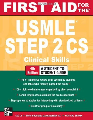 First Aid for the USMLE Step 2 CS 9780071760508
