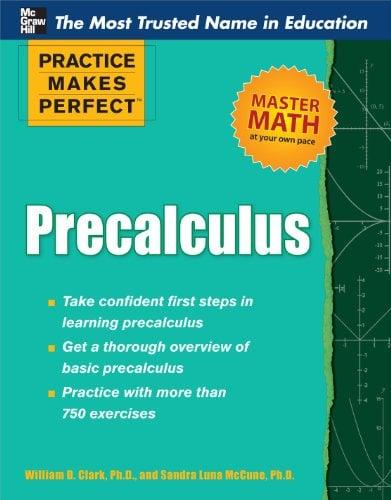 Practice Makes Perfect Precalculus 9780071761789