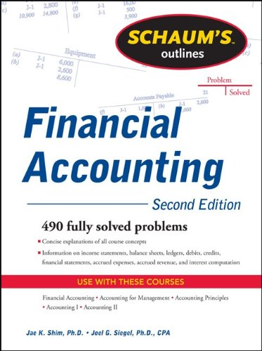 Schaum's Outline of Financial Accounting 9780071762502