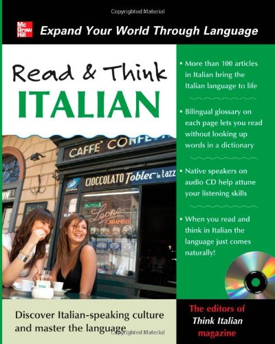 Read and Think Italian [With CD] 9780071763653