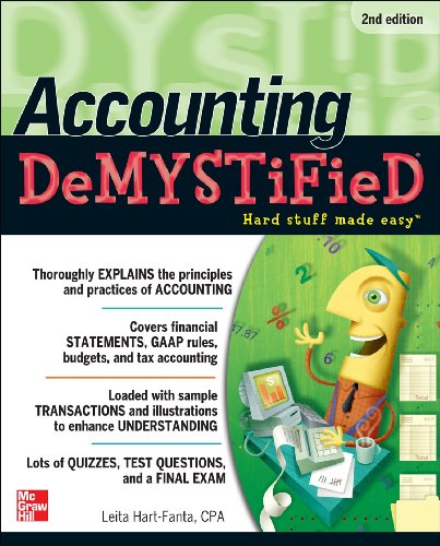 Accounting Demystified, 2nd Edition 9780071763738